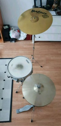 Hi-hat 14'' Paiste 101, Headliner 20'' Ride, Power Trelleborg, 231 44