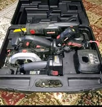 black and gray power tool set Lincoln, 68521