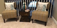 1 Pair of Occasional Chairs and Table Pickering, L1V 1T3