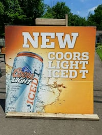 Coors Light Poster Georgina, L0E