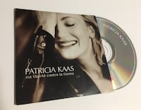 Patrica kaas cd single ma liberté contre la tienne