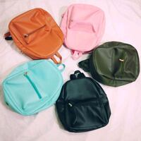 "Leatherette Backpack 11"" Cainta"