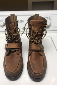 Men's Polo boots size 8.5