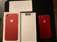 iPhone7 Product Red 128GB Toronto, M4Y 1C5