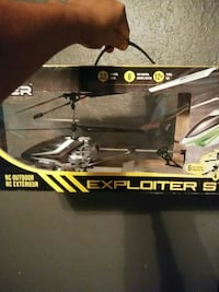black and gray Exploiter S RC helicopter box Modesto, 95351