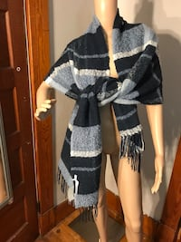 black and white knitted cardigan Athol, 01331