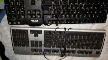 2 keyboards wired