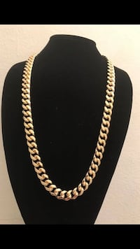 Men's 14k stamped chain (24 inches