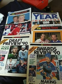 The hockey news magazines  Barrie, L4M 6B1
