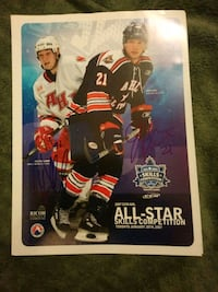 Kyle Wellwood & John Pohl signed All Star pamphlet Edmonton, T6H 5G1