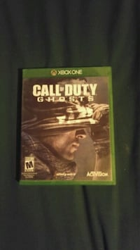 Cod ghosts for xbox one Vancouver, V5N 1H3