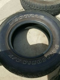 Geotrac vehicle tire Antioch
