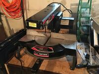 Craftsman table top radial arm compound miter saw. Works great. Johnstown, 15905