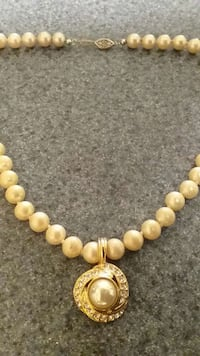 "Womens Roma 16"" Pearl Necklace"