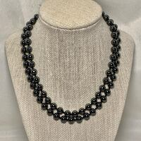 Genuine Hematite Beaded Necklace Ashburn, 20147
