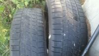 PAIR  TIRES  235 - 50 - 18  SNOW  RATED  Chilliwack