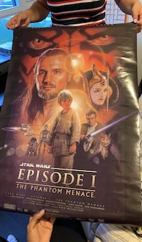 Star Wars Episode 1 Phantom Menace POSTERS Toronto, M5A 0C4