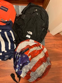 North face Backpack and Nike gym bag and others Edmonton, T6X 1C3