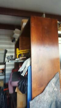 Large Wood cabinet Mobile