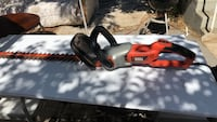 orange and gray BLACK & DECKER hedge trimmer Los Angeles, 90033