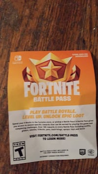 Fortnite battle royal game Nintendo switch 547 km