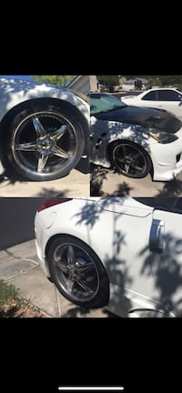 Rims and tires for a 350Z, Mustang, Altima, Ford, Nissan