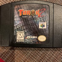 Turok 2 Seeds Of Evil Nintendo 64game Bowie, 20715