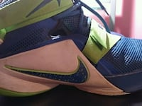 LeBron's basketball sneakers Lee Center, 13363