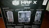 Cooler Master HAF X Full Tower case Frederick, 21704
