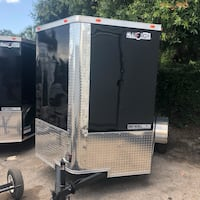 2018 6x10 SA enclosed trailer Cynergy Cargo ramp Tampa, 33611