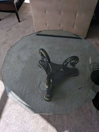 Coffee table (Tempered glass )