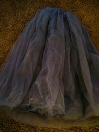 New Floor Length Silver Tutu Las Vegas, 89169