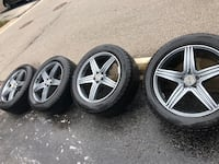 "Mercedes GL 20"" winter wheels LIKE NEW Oakville, L6L 3H8"