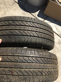 two vehicle tires Tracy, 95376