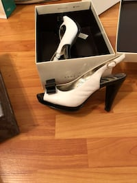Black and white heels Laval, H7T 3A6