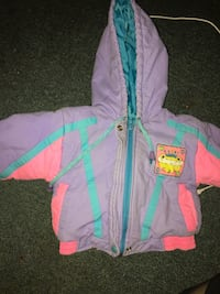 baby's pink and blue zip-up hoodie Nanaimo, V9T 5X6