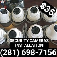 SECURITY CAMERAS INSTALLATION Jersey Village