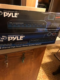8 CHANNEL HIGH POWER STEREO SPEAKER SELECTOR, PYLE AUDIO MODEL PSS8, BRAND NEW! Лос-Анджелес, 90033