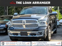 2017 Dodge Ram 1500 Longhorn Diesel with 62617km and 100% approved financing Barrie