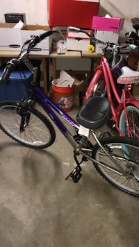 black and purple hardtail mountain bike Green Bay, 54304
