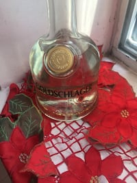 Bottle GOLDSCHLAGER  fine liquer with real gold flakes.  Toronto, M4Y 1A5