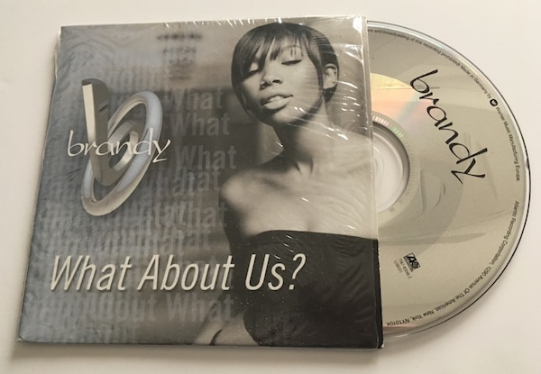 Brandy, what about us? CD single
