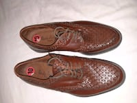 pair of brown leather slip on shoes Miami, 33155