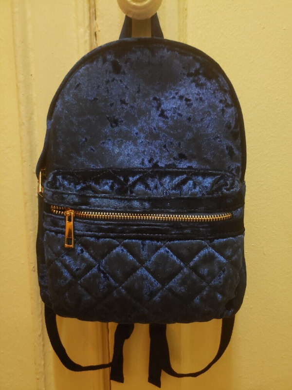 bc89cc5d8a48 Used FOREVER 21 blue backpack for sale in New York - letgo