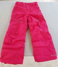 Columbia girls quality snow pants 7/8 Woodbridge, 22192