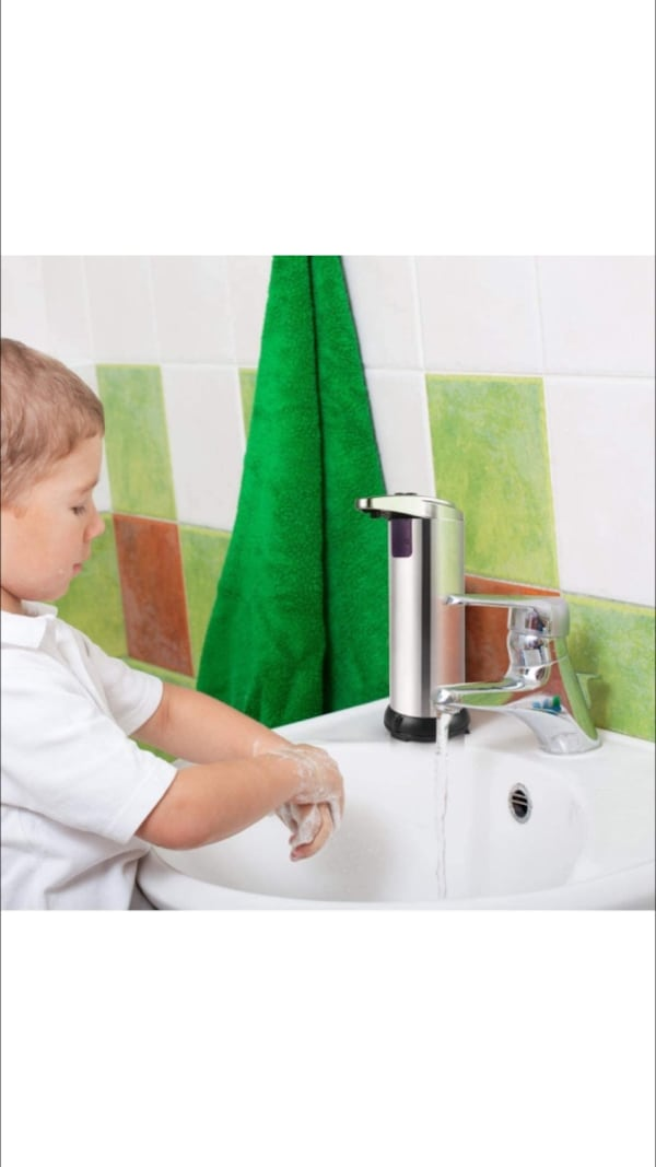 Automatic Soap Dispenser Stainless Steel New - cheaper than Amazon d9c6c932-499a-44da-950e-c2de81ea1aa2