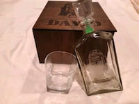monogrammed Star Wars decanter and glass Temple Hills, 20748