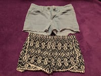 Women's light blue and black tribal shorts Morrilton, 72110