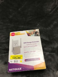 White wifi extender  Langley, V2Y