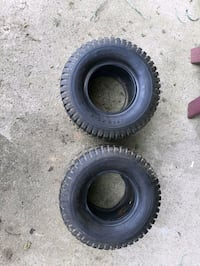 Zero turn turf tires
